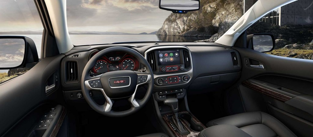 new 2015 GMC Canyon interior Raleigh Wendell